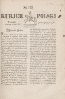 Kurjer Polski. 1830, Nro 163 (21 maja)