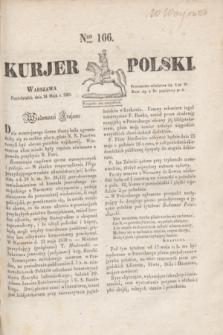 Kurjer Polski. 1830, Nro 166 (24 maja)