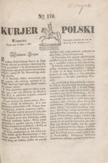 Kurjer Polski. 1830, Nro 170 (28 maja)