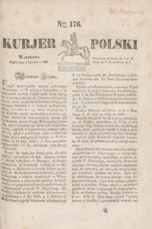 Kurjer Polski. 1830, Nro 176 (4 czerwca)
