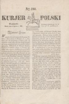 Kurjer Polski. 1830, Nro 180 (8 czerwca)