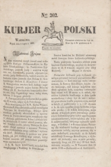 Kurjer Polski. 1830, Nro 202 (2 lipca)
