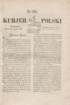 Kurjer Polski. 1830, Nro 225 (25 lipca)