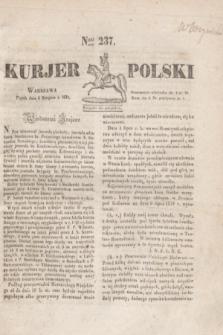 Kurjer Polski. 1830, Nro 237 (6 sierpnia)
