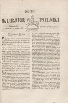 Kurjer Polski. 1830, Nro 241 (10 sierpnia)