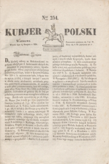 Kurjer Polski. 1830, Nro 254 (24 sierpnia)