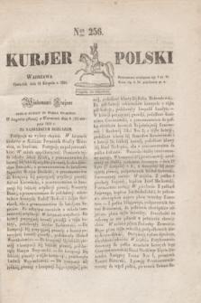 Kurjer Polski. 1830, Nro 256 (26 sierpnia)