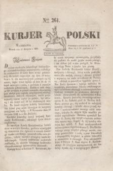 Kurjer Polski. 1830, Nro 261 (31 sierpnia)