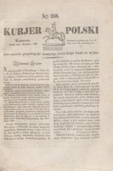 Kurjer Polski. 1830, Nro 268 (7 września)