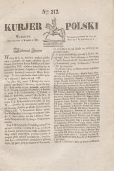 Kurjer Polski. 1830, Nro 272 (12 września)