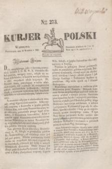 Kurjer Polski. 1830, Nro 273 (13 września)