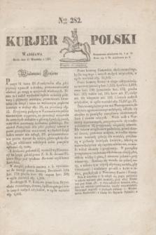 Kurjer Polski. 1830, Nro 282 (22 września)