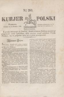 Kurjer Polski. 1830, Nro 283 (23 września)