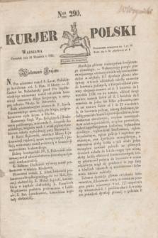 Kurjer Polski. 1830, Nro 290 (30 września 1830)