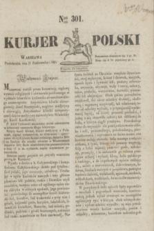 Kurjer Polski. 1830, Nro 301 (11 październik)