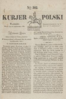 Kurjer Polski. 1830, Nro 302 (12 października)