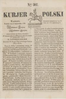 Kurjer Polski. 1830, Nro 307 (17 października)