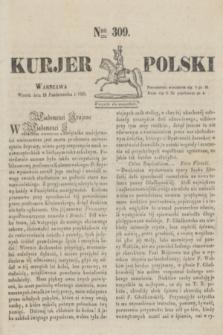 Kurjer Polski. 1830, Nro 309 (19 października)