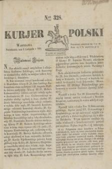 Kurjer Polski. 1830, Nro 328 (8 listopada)