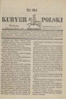 Kuryer Polski. 1830, Nro 364 (17 grudnia)