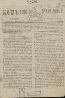 Kuryer Polski. 1831, Nro 380 (4 stycznia)