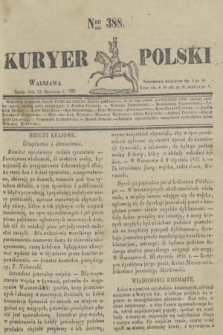 Kuryer Polski. 1831, Nro 388 (12 stycznia)