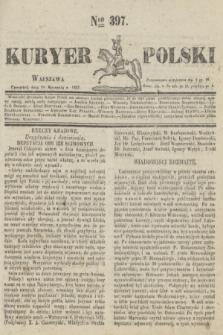 Kuryer Polski. 1831, Nro 397 (20 stycznia)