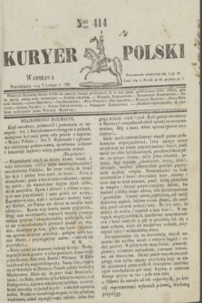 Kuryer Polski. 1831, Nro 414 (7 lutego)