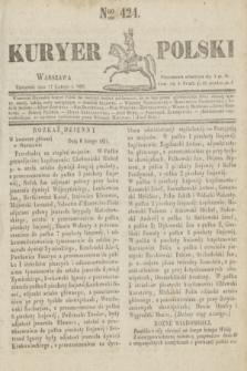 Kuryer Polski. 1831, Nro 424 (17 lutego)
