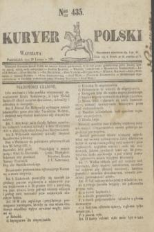 Kuryer Polski. 1831, Nro 435 (28 lutego)