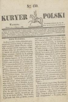 Kuryer Polski. 1831, Nro 450 (15 marca)