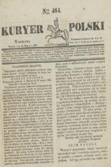 Kuryer Polski. 1831, Nro 464 (29 marca)