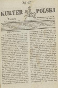 Kuryer Polski. 1831, Nro 467 (1 kwietnia)