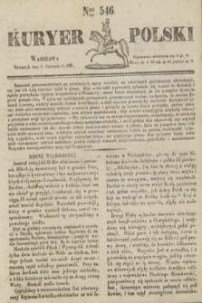 Kuryer Polski. 1831, Nro 546 (23 czerwca)