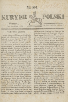 Kuryer Polski. 1831, Nro 501 (6 maja)