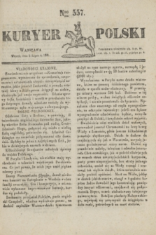 Kuryer Polski. 1831, Nro 557 (5 lipca)