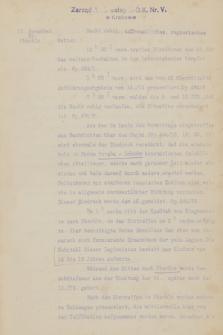 """K. u. k. 1. Korpskommando. Tagebuch Nr 1-3 über Ereignisse im Felde vom 23. Juli 1914 bis 23. Mai 1915"" T. 2, 15 November 1914 – 14 Februar 1915 r."