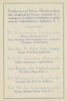 """""""Diariusz życia krakowskiego"""" : Alegaty do roku 1936"""