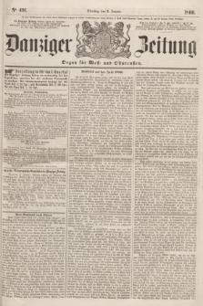 Danziger Zeitung : Organ für West- und Ostpreußen. 1860, No. 491 (3 Januar)