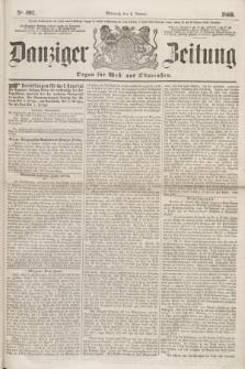 Danziger Zeitung : Organ für West- und Ostpreußen. 1860, No. 492 (4 Januar)