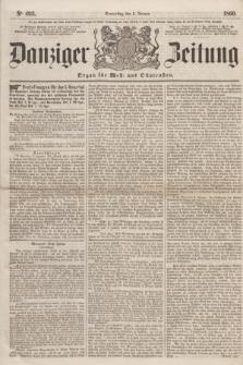 Danziger Zeitung : Organ für West- und Ostpreußen. 1860, No. 493 (5 Januar) + dod.