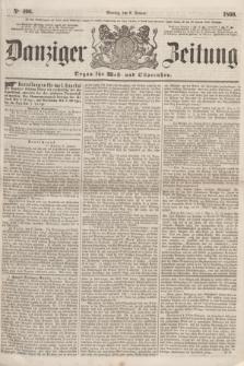 Danziger Zeitung : Organ für West- und Ostpreußen. 1860, No. 496 (9 Januar)