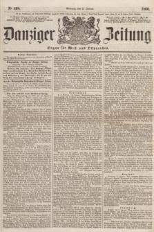 Danziger Zeitung : Organ für West- und Ostpreußen. 1860, No. 498 (11 Januar)