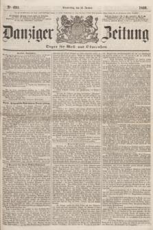 Danziger Zeitung : Organ für West- und Ostpreußen. 1860, No. 499 (12 Januar)