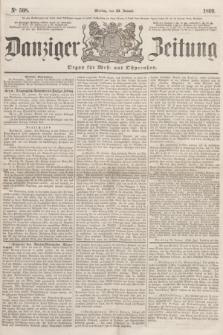 Danziger Zeitung : Organ für West- und Ostpreußen. 1860, No. 508 (23 Januar)