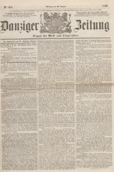 Danziger Zeitung : Organ für West- und Ostpreußen. 1860, No. 514 (30 Januar)