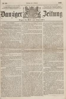 Danziger Zeitung : Organ für West- und Ostpreußen. 1860, No. 521 (7 Februar)