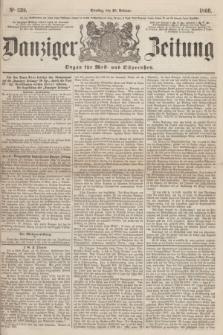 Danziger Zeitung : Organ für West- und Ostpreußen. 1860, No. 539 (28 Februar)