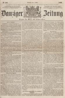 Danziger Zeitung : Organ für West- und Ostpreußen. 1860, No. 546 (7 März)