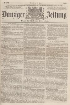 Danziger Zeitung : Organ für West- und Ostpreußen. 1860, No. 580 (18 April)